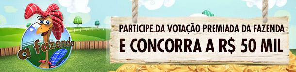 banner votação